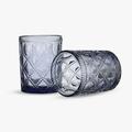 Бокал для Воды Арабский Фиолетовый Орнамент 300 ml (набор 6шт)