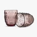 Стакан для Воды Розовый Королевский 300 ml (набор 6шт)