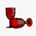 Бокал для Вина Дикая Красная Лилия 300 ml (набор 6 штук)