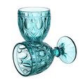 Бокал для вина Арабский бирюзовый орнамент (набор 6шт)