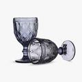 Бокал для вина Арабский фиолетовый орнамент (набор 6шт)