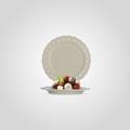 Тарелка керамическая Резная