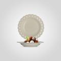 Тарелка керамическая Суповая Резная