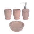 Набор Аксессуаров для Ванной комнаты Розовый