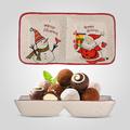 Блюдо керамическое Новогоднее для Снэков
