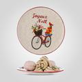 Тарелка Керамическая Новогодняя