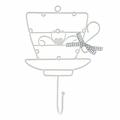 Вешалка-крючок «Чайная церемония», версия 2