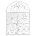 Настенное зеркало «Бизе» (белый антик)