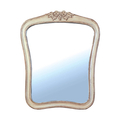 Зеркало в стиле прованс DF817