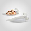 Блюдо-Лебедь Керамическое Большое