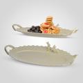 Блюдо с кроликом овальное Крем де ла крем