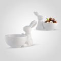 Керамическая Конфетница-пиала French bunny