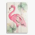 Панно Pink flamingo sh2013
