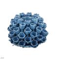 Подсвечник 15 х 15 х 10 см JC0099-BLUE