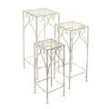 Набор из 3-х квадратных столиков L:30х72 ; M:25х62 ; S:20х52 PL08-6183