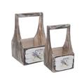 Набор деревянных корзин LAVANDE 14YW8010