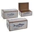 Сундуки деревянные набор HERENG MA01156