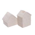 Керамические домики подсвечники (от 12-х шт.) 1514105W