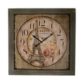 Часы настенные деревянные PARIS (60см) 50596