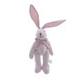 Мягкая игрушка кролик в полоску розовый (25см) AM10123-3