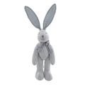 Мягкая игрушка кролик в полоску голубой (30см) AM10130-4