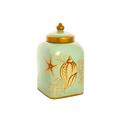 Банка для сыпучих с крышкой (глина) Морская звезда H19388-2554-10