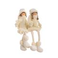 Мягкая новогодняя игрушка мальчик с девочкой (35см) YJ20142312-L