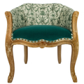 Кресло «Биарриц Туаль де Жуи антик (грин)» 108233