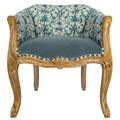 Кресло «Биарриц Туаль де Жуи антик (блю)» 108234