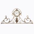 Настенные часы «Вуаль-Руж» (королевская бронза) 8761