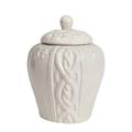 Декоративная ваза с крышкой Lindley для хранения продуктов Маленькая Серая DG-D-1258-1