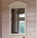 Прямоугольное зеркало настенное с полукруглым верхом ST9334