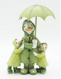 Статуэтка Утки под зонтом 11х5,5х18 KT99-0034