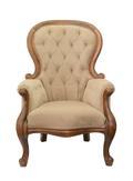 Классическое кресло Madre light brown