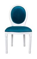 Стул Volker blue+white