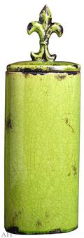 Ваза с крышкой 16,5 х 11 х 51 см, 66641-GREE