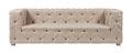 Диван Soho Tufted Upholstered Sofa Кремовый Лен DG-F-SF361