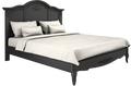 Кровать с жесткой спинкой 180*200 Belverom Black (черная)