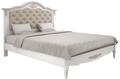 Кровать 160*200 с мягким изголовьем Belverom Gold (золотая)