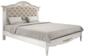 Кровать 140*200 с мягким изголовьем Belverom Gold (золотая)