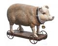 Статуэтка свинья 10х21х20 QJ99-0158