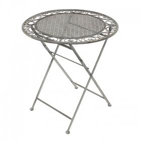 Стол с кованым узором 70х75 PL08-5877W