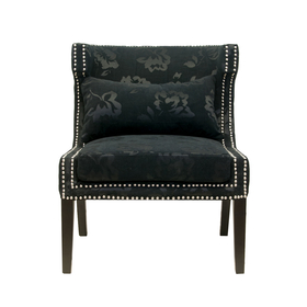 Кресло Suza black KY-3184-B