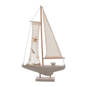 Лодка декоративная с ракушками (от 2шт.) MA04025A