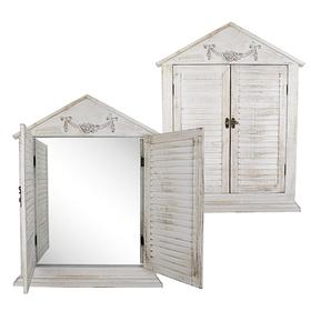 Зеркало со ставнями деревянное PL08-34754