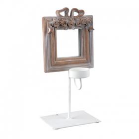 Зеркало- подсвечник 23.5Х2Х33 QJ99-0139