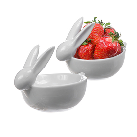 Конфетница Кролик белая нежность WA41316-1W