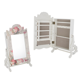 Зеркало-шкатулка Розовая мечта YG851-2