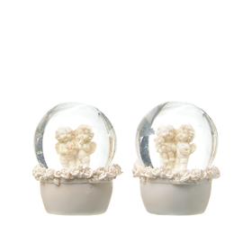 Ангелы в шаре Роза счастья (набор из 2х штук) A308461-29