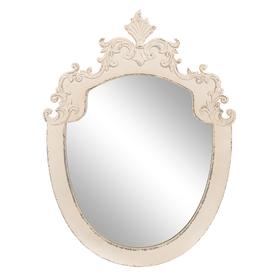 Зеркало Античное белое QXA124-1201